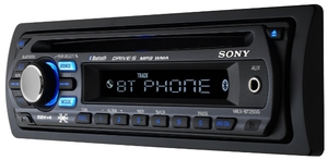sony bluetooth headunit