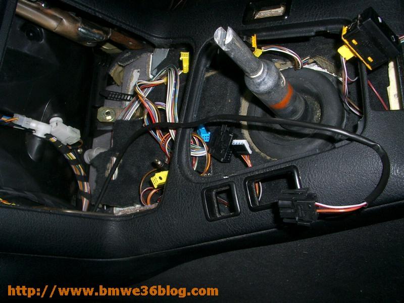 photos bmw e36 install lighted shift knob bmw e36 install lighted shift knob 03