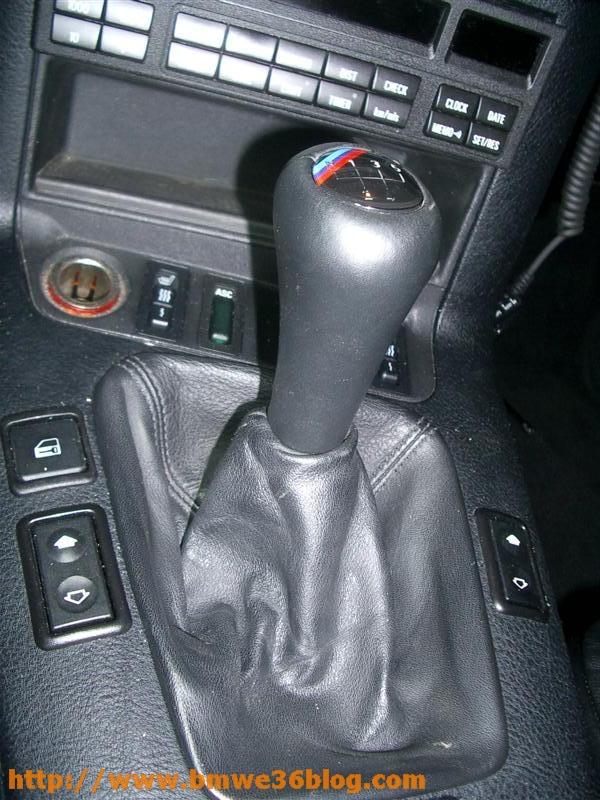 photos bmw e36 install lighted shift knob bmw e36 install lighted shift knob 08
