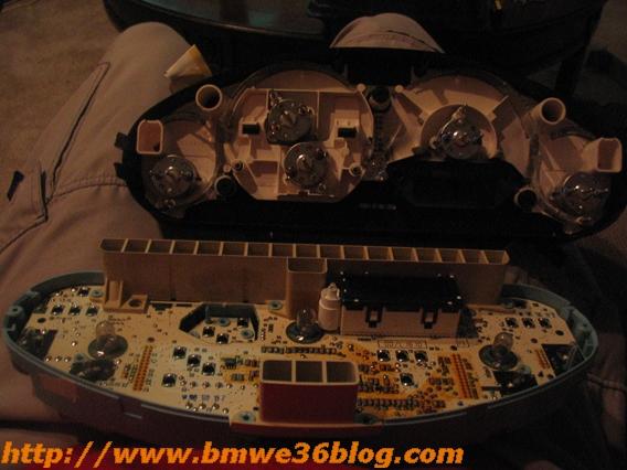 photos bmw e36 silver gauges cluster rings bmw e36 gauge 08