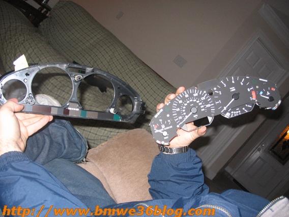 photos bmw e36 silver gauges cluster rings bmw e36 gauge 10