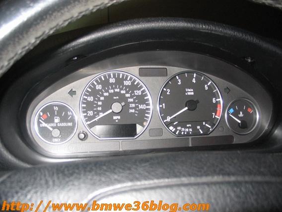 photos bmw e36 silver gauges cluster rings bmw e36 gauge 13