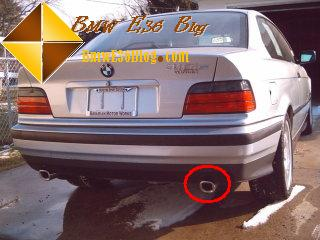 bmw e36 with double exhaust