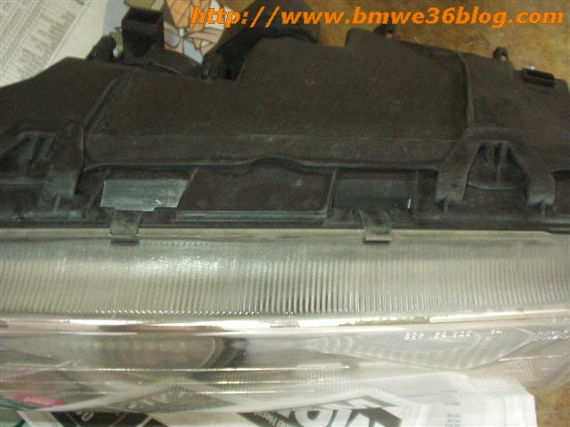 photos clean bmw e36 headlight bmw e36 headlight03