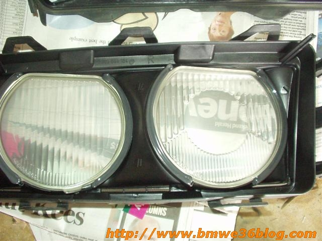 photos clean bmw e36 headlight bmw e36 headlight05