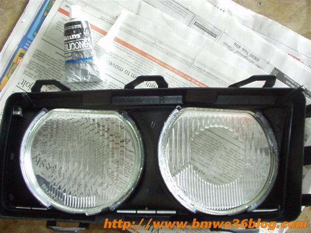 photos clean bmw e36 headlight bmw e36 headlight07
