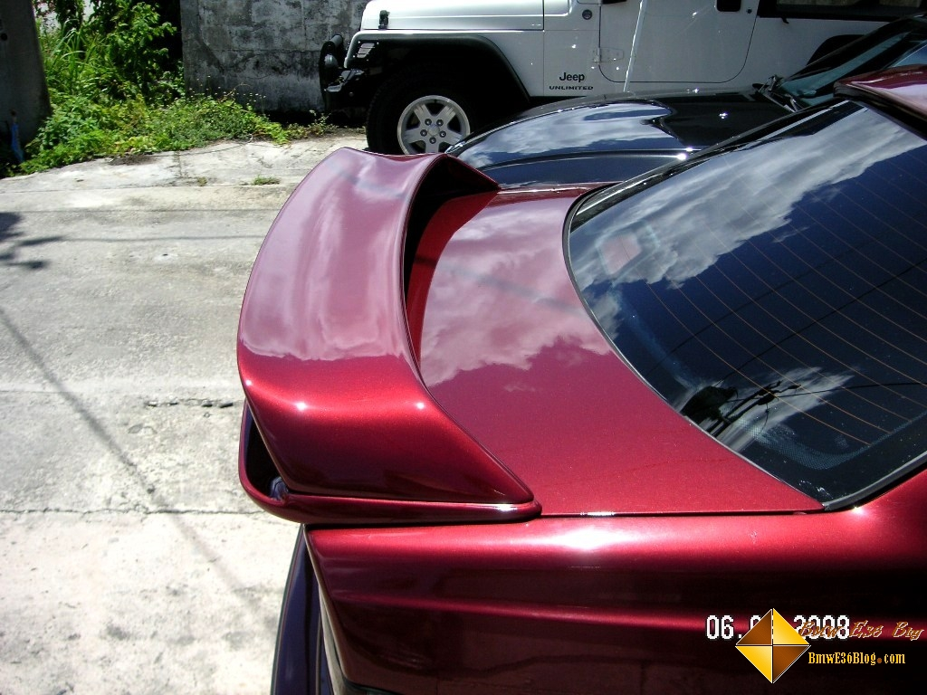 photos e36 lightweight rear spoiler e36 lightweight rear spoiler 04