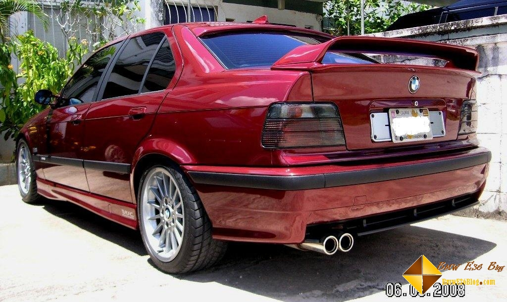 E Spoiler BMW E Blog - E36 ac schnitzer spoiler