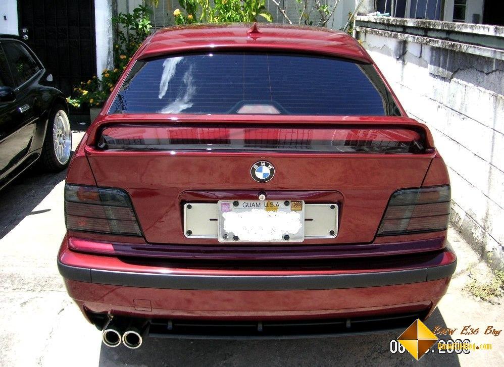 photos e36 lightweight rear spoiler e36 lightweight rear spoiler 08