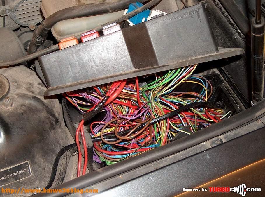E36 Coupe Fuse Box : Photos install bmw e immobiliser