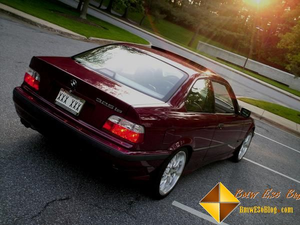 photos maroon bmw e36 325is maroon bmw e36 325is 06