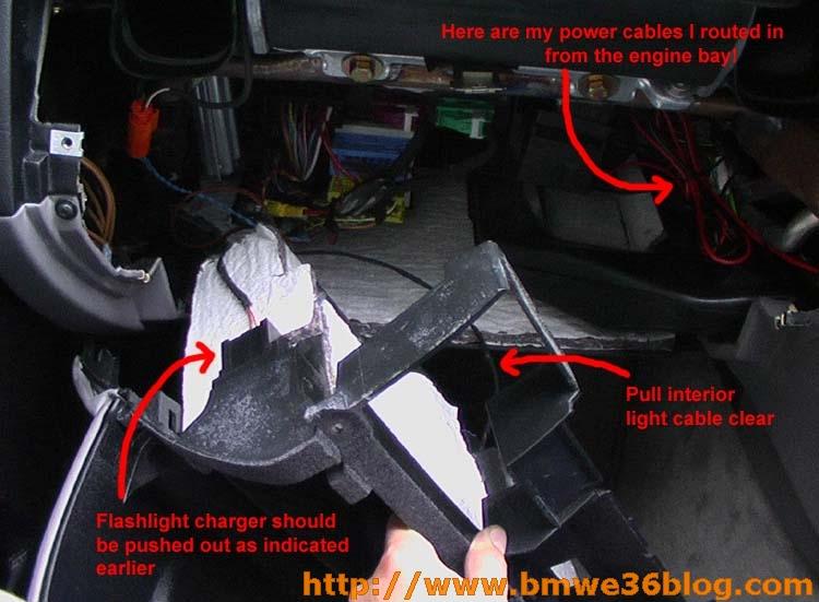 photos remove e36 glovebox image07