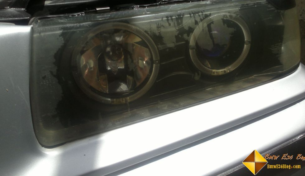 photos replacing bmw e36 headlights replacing bmw e36 headlights 02