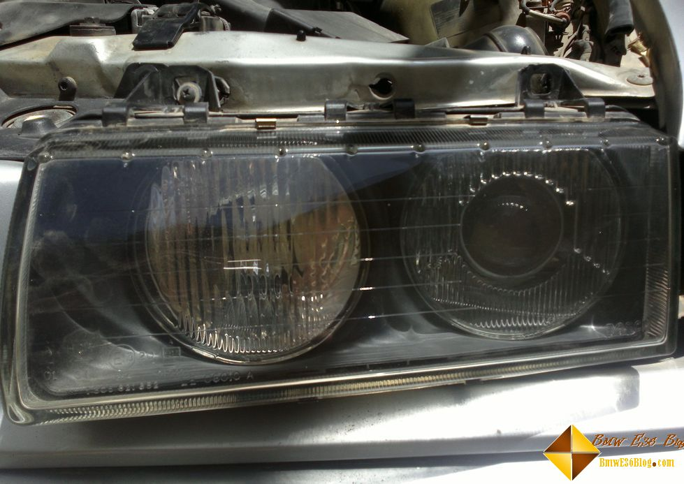 photos replacing bmw e36 headlights replacing bmw e36 headlights 07